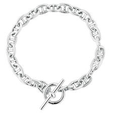 "20cm (8"") Anchor Bracelet in Sterling Silver"