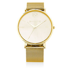 Gold Tone Stainless Steel Watch
