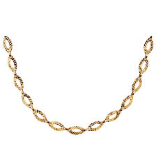 "45cm (18"") Necklace in 10kt Yellow Gold"