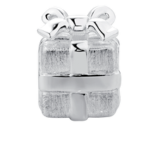 Present Charm in Sterling Silver
