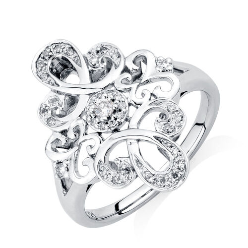exclusive michael hill designer ring with 0 16