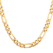 "55cm (22"") Figaro Chain in 10kt Yellow Gold"