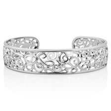 Filigree Cuff in Sterling Silver