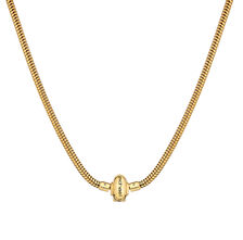 "10ct Yellow Gold 45cm (18"") Charm Lariat Necklace"