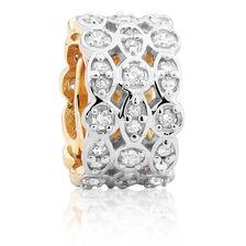 0.26 Carat TW Diamond Charm