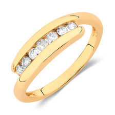 Ring with 1/4 Carat TW of Diamonds in 10kt Yellow Gold