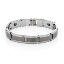 Online Exclusive - Men's Bracelet in Polished Tungsten