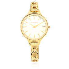 Ladies Bracelet Watch in Gold Tone Stainless Steel