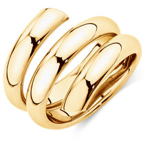 Spiral Ring in 10ct Yellow Gold