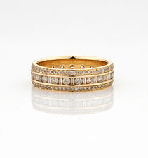 Online Exclusive - Ring with 1 1/4 Carat TW of Diamonds in 10ct Yellow Gold