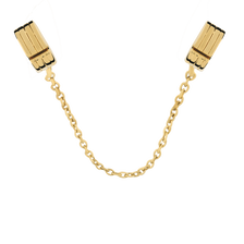 10kt Yellow Gold Safety Chain