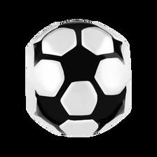 Sterling Silver Soccer Ball Charm