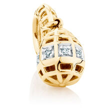 Diamond Set Marrakesh Drop Charm