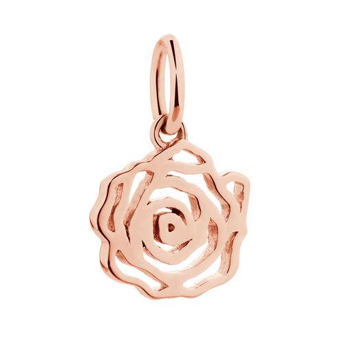 10ct Rose Gold Rose Mini Pendant