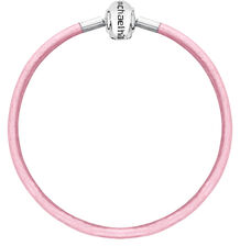 "Pink Triple Wrap Leather 57cm (22"") Charm Bracelet"