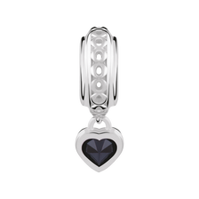 Sterling Silver September Heart Charm