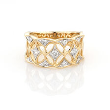 Online Exclusive - Ring with 0.35 Carat TW of Diamonds in 10ct Yellow Gold