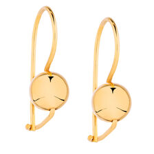 Hook Earrings in 10kt Yellow Gold