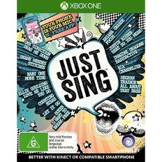 XboxOne Just Sing