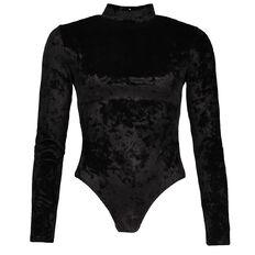 Garage Velvet Bodysuit