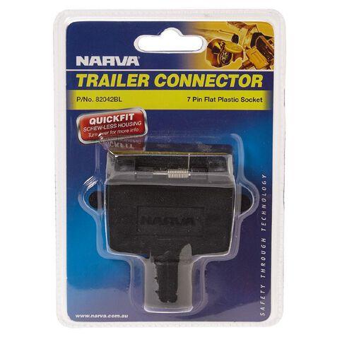 Narva Trailer Socket 7 Pin Flat
