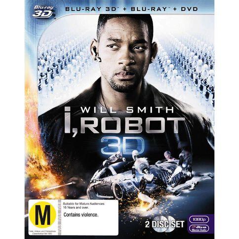 I Robot 3D Blu-ray 1Disc