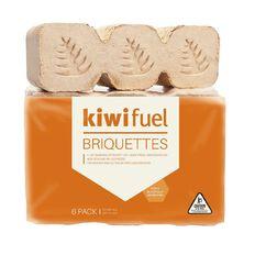 Kiwi Fuel Briquettes 6 Pack