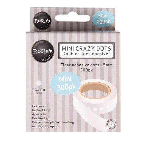 Rosie's Studio Crazy Dots 5mm (3/16 Inch) 300 Pack