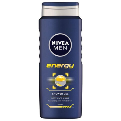 Nivea For Men Shower Gel Energy 500ml