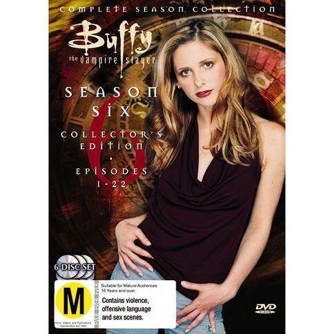 Buffy Season 6 Collection DVD 1Disc