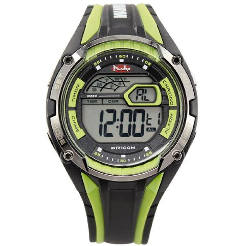 Mambo Men's Hurrican Watch Green Black