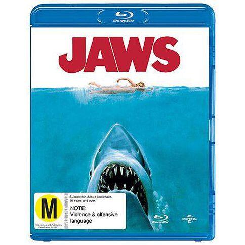 Jaws Blu-ray 1Disc