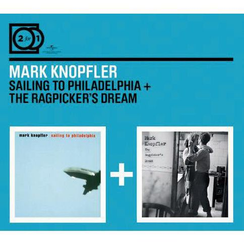 2 for 1 Sailing to Philadel/Ragpickers Dream CD by Mark Knopfler 2Disc