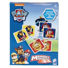 Paw Patrol Memory Match Cards Set 72 Piece