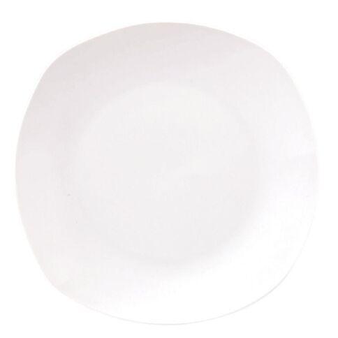 Living & Co Quadra Side Plate Square White