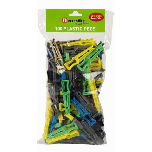 Necessities Brand Pegs 100 Pack