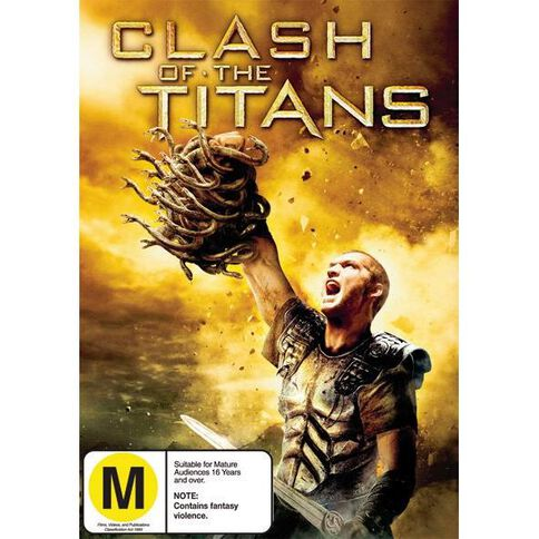 Clash Of The Titans DVD 1Disc