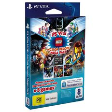 PS Vita Mega Pack LEGO Heroes