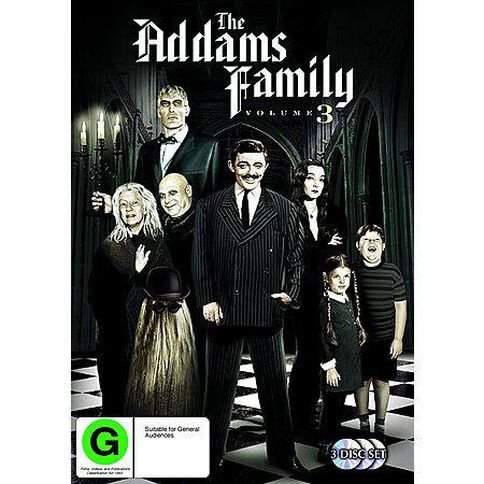 Addams Family Season 3 DVD 3Discs