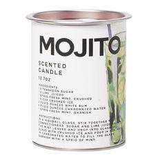 Living & Co Tin Candle Mojito 360g 9cm x 11cm