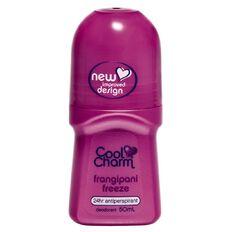 Cool Charm Roll On Deodorant Frangipani Freeze 50ml