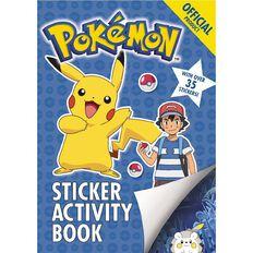 Pokemon: Sun and Moon Sticker Activity Book