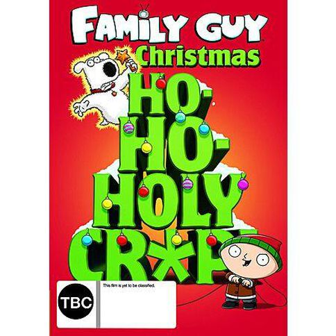 Ho Ho Holy Crap The Family Guy Christmas Collection DVD 1Disc