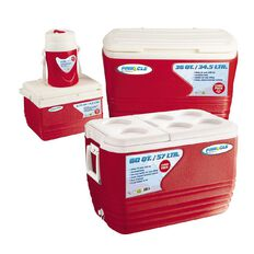 Pinnacle Chilly Bin Family Combo Red 4 Piece