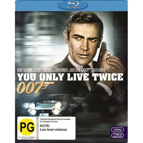 You Only Live Twice 2012 Version Blu-ray 1Disc