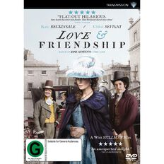 Love and Friendship DVD 1Disc