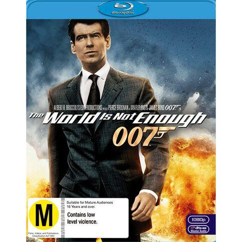 World Is Not Enough The 2012 Version Blu-ray 1Disc