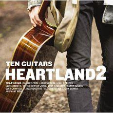 Ten Guitars Heartland Volume 2 CD by Various Artists 2Disc