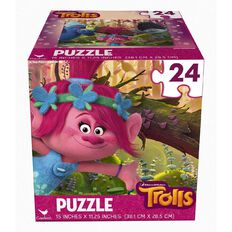 Trolls Puzzle Cube 24 Piece