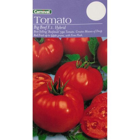 Carnival Seeds Tomato Big Beef F1 Hybrid